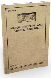 march discipline and traffic control (july 1918)
