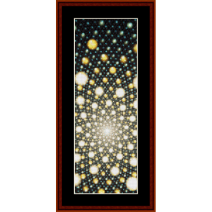 Fractal 393 Bookmark cross stitch pattern by Cross Stitch Collectibles | Crafting | Cross-Stitch | Other