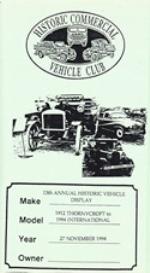 13th hcvc historic truck display