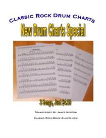 New Drum Charts Special - Spinning Wheel, Poor Tom, & Take My Breath A | eBooks | Sheet Music