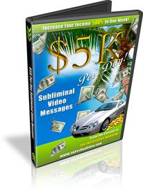 5K Per Day Subliminal Video Messages Nelson Berry | Movies and Videos | Miscellaneous