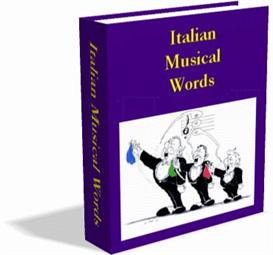 Italian Musical Words