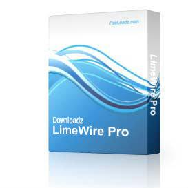 LimeWire Pro | Software | Audio and Video