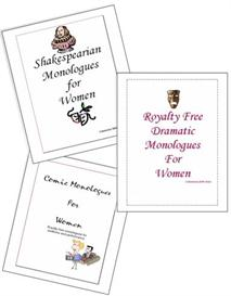 A Collection of Female Monologues-for Drama,Audition,Study | eBooks | Plays and Scripts