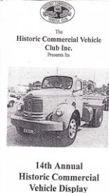 14th hcvc historic truck display