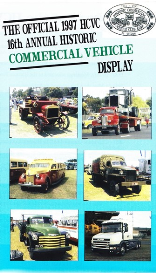 16th hcvc historic truck display