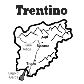 lesson plan and reading exercise for italian language learners: trentino region