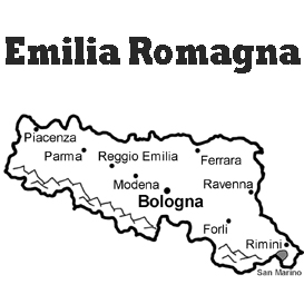 lesson plan and reading exercise for italian language learners: emilia romagna region