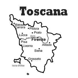 lesson plan and reading exercise for italian language learners: tuscany region