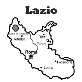 lesson plan and reading exercise for italian language learners: lazio region
