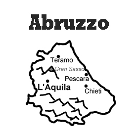 lesson plan and reading exercise for italian language learners: abruzzo region
