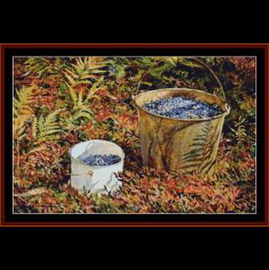 Quart Pail - Americana cross stitch pattern by Cross Stitch Collectibles | Crafting | Cross-Stitch | Wall Hangings