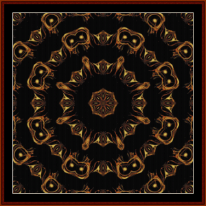 Fractal 392 cross stitch pattern by Cross Stitch Collectibles | Crafting | Cross-Stitch | Wall Hangings