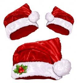 vectorlib rf (standard license): vector illustration of christmas santa's hat.