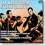 Brahms, Dvorak, Schubert, Smetana - Quartets and Quintets, Hollywood Qt, 1951-55, Ambient Stereo MP3 | Music | Classical