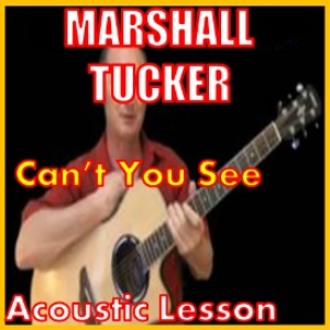 learn to play cant you see by the mashall tucker band