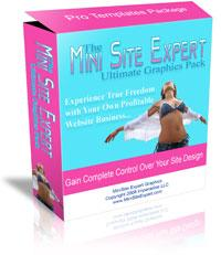 MiniSite Expert Graphics Package | Software | Design Templates