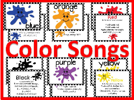color songs and bulletin board kit