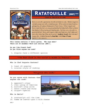 ratatouille movie essay Film essay ratatouille analysis urbanization in ledcs essays alexander @thebouncingbird to answer you, i will have to write essays and papers post-grad but that's.