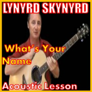 learn to play whats your name by lynyrd skynyrd