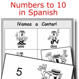 numbers to 10 in spanish