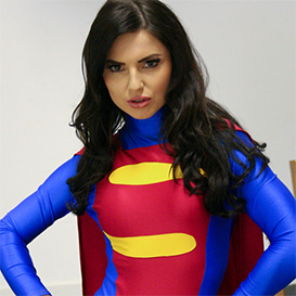 comic - superwoman - scientist