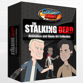the stalking dead art collection