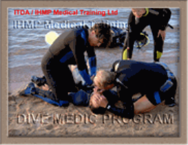 dive medic first aid for divers