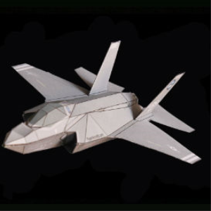 Paper F-35A AA1 | Crafting | Paper Crafting | Other