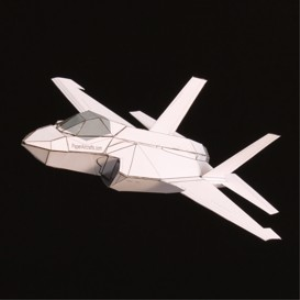 Paper F-35A White | Crafting | Paper Crafting | Paper Models
