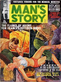man's story magazine, feb. 1963 (complete issue)