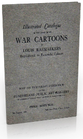illustrated catalogue of the war cartoons of louis raemaekers. (1917)