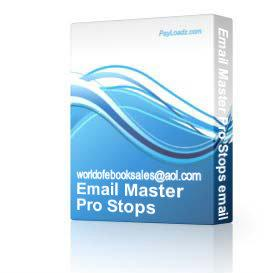 Email Master Pro Stops emails being caught Spam RESELL | Software | Internet