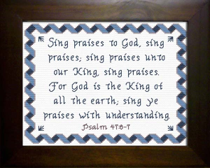Sing Praises | Crafting | Cross-Stitch | Other