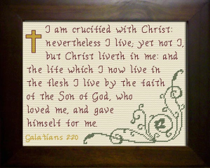 Crucified with Christ | Crafting | Cross-Stitch | Other