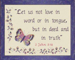 love in deed and in truth