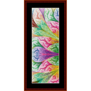 Fractal 395 Bookmark cross stitch pattern by Cross Stitch Collectibles | Crafting | Cross-Stitch | Other
