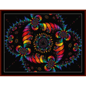 Fractal 111 cross stitch pattern by Cross Stitch Collectibles | Crafting | Cross-Stitch | Other