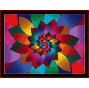 Fractal 62 cross stitch pattern by Cross Stitch Collectibles | Crafting | Cross-Stitch | Wall Hangings