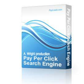 Pay Per Click Search Engine Generator | eBooks | Business and Money