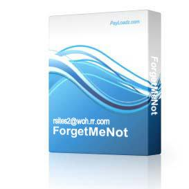 ForgetMeNot | Software | Home and Desktop