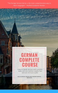 fsi german levels 1, 2, and 3