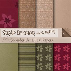 Consider the Lilies Papers | Other Files | Scrapbooking