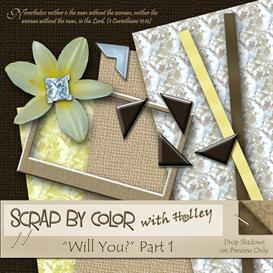 Will You? Part 1 | Other Files | Scrapbooking