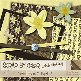 Will You? Part 2 | Other Files | Scrapbooking