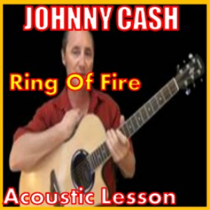 learn to play ring of fire by johnny cash