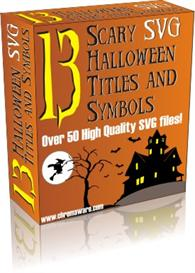 13 Scary SVG Halloween Titles and Symbols | Other Files | Arts and Crafts
