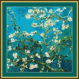 Blue Blossoms Cross Stitch | Other Files | Arts and Crafts