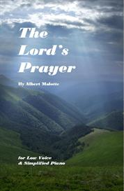 the lords prayer by malotte  medium low key simplified pno sheet music
