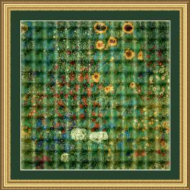 Farm Garden with Sunflowers Cross Stitch Pattern | Other Files | Arts and Crafts